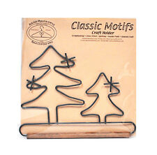 Classic Motifs Evergreen Tree 5 Inch Fabric Holder With Dowel