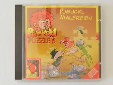 PC CD Pumuckl Puzzle 6 Malereien