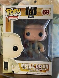 Funko Pop! Television The Walking Dead  Merle Dixon #69 Vaulted/Retired