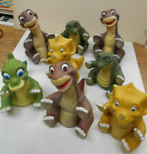 8 Vintage 1988 Land Before Time Dinosaur Puppets  SO CUTE!