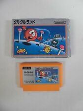 CLU CLU LAND -- Famicom, NES. Japan game. Work fully. 10220