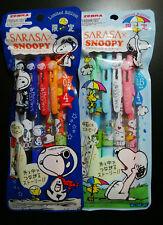 New SNOOPY Sarasa Clip / Gel Ball-Pointpen Sets (8 pens) / Limited Edition Zebra