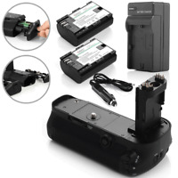 BG-E11 Battery Grip For Canon EOS 5D Mark III 3 + 2 X LP-E6 Batteries + Charger
