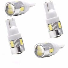 4pcs White T10 W5W 5630 168 194 192 158 6-SMD LED Car Wedge Side Light Bulb Lamp