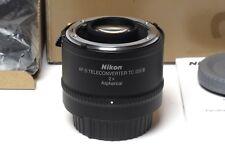Nikon AF-S teleconvertidores tc-20e III con embalaje original. - en absoluto utilizada!