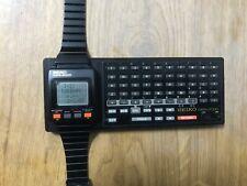 Seiko Data 2000 + Keyboard . Watch Digital Retro. First SmartWatch.