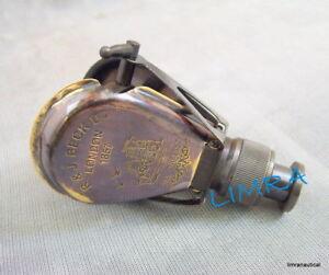 Brass Monocular Binocular Telescope Vintage Antique Nautical Spyglass Scope