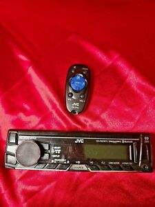 JVC KD-X320BTS Car Stereo replacement FACEPLATE ONLY TESTED plus Remote RM-RK52