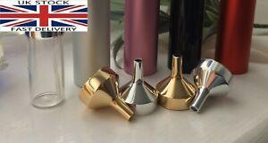 Perfume dispenser Aluminum Mini Funnel Refillable atomiser spray filler tool