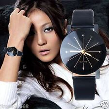 Women Casual Luxury Quartz Watch Leather Band Round Wrist Watches Gifts Fashion
