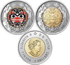 2020 Canada 2 dollars Bill Reid - BU from roll - 2 coins-
