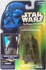Star Wars PotF Garindan (Long Snoot) figure Mint on green 'photo' card