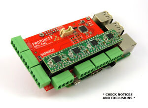 Raspberry Pi CNC Hat V2.60 - GRBL v1.1 Compatible - Ext Options - US/Canada DHL