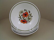 Ironstone 1960-1979 J&G Meakin Pottery Bowls