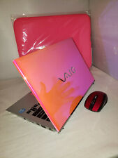 Frosted Pink Sony Vaio T Series Touchscreen 500gb 4gb Windows 10 1.80GHz