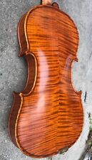 Stunning Highly Flamed Gliga Maestro Violin with Improved Setup for Optimum Tone