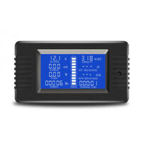 1X(0-200 V 300A Voltmeter Amperemeter Digital Batterie Tester Eingebauter SK7V1)