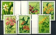 Saint Thomas and Prince Islands 1979 Mi. 568-573 Used 100% Nature flowers