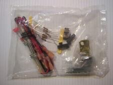 Honeywell Ademco Vista Dual Battery Fused Leads w/1393 Lock Kit