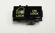 90-92 Camaro RS Z28 PDL Electric Power Door Lock Switch BLACK/YELLOW LH NEW GM