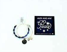 Alex and Ani Peace Bracelet 2 Silver-Tone Bangles No Longer Available
