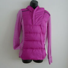 LULULEMON Ultra Violet FLUFF OFF PULLOVER 8 Rulu DOWN 800 Fill SOLD OUT Gift NEW