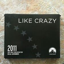 For Your Consideration: Like Crazy 2011 Fyc In All Categories Paramount