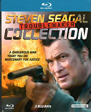 Steven Seagal Troublemaker Collection , Blu_Ray Region B/2 , new and sealed