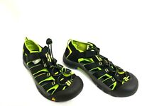 NEW! Youth's KEEN Newport H2 Sandals – Black/Lime 197o sm