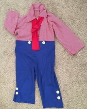 """Red White Blue 44"""" Underarm Unisex RAGEDDY ANDY Costume - Adult Jump Suit"""