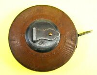 Lufkin Rule Co Challenge Steel Tape Measure 50 Feet! USA Leather  EXCELLENT!