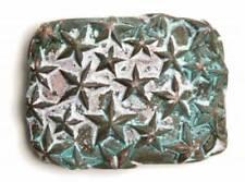 Boucles de ceinture bleus en métal pour femme
