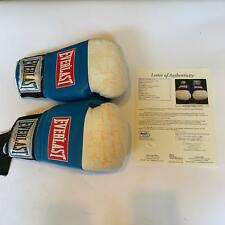 Shawn Porter Signed Fight Worn Boxing Gloves (2) With JSA COA