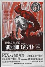 HORROR CASTLE Movie POSTER 27x40 Rossana Podest  Georges Rivi re (as George