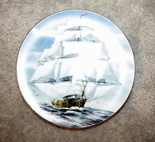 Rare Rosenthal Danbury Mint Great American Ships-The Flying Cloud German Made