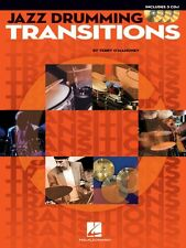 Jazz Drumming Transitions Drum Instruction Book and CD NEW 006620140