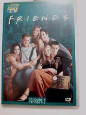 DVD Film Friends Le grandi serie Tv Sorrisi e Canzoni Stagione 6 Episodi 1-6