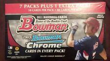 2011 Bowman Baseball Factory Sealed Blaster Box