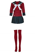 Danganronpa V3 Killing Harmony Harukawa Maki Cosplay Costume School Sailor Dress