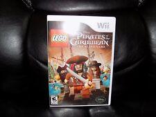 LEGO Pirates of the Caribbean: The Video Game (Nintendo Wii, 2011) EUC