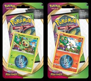 Pokémon SS4 Vivid Voltage Checklane Blisters (2 Pack)