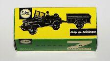 SIKU V228 Jeep mit Anhänger olivgrün