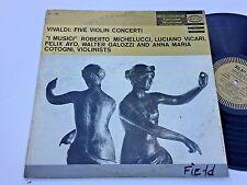VIVALDI NM Five Violin Concerti I Musici Epic LC 3486 Vicari Ayo Gelozzi Cotogni