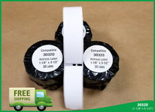 Dymo Labelwriter Duo 400 450 Twin Turbo 50 Roll Of 30320 Large Address Labels