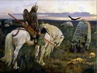 ILYA YEFIMOVICH REPIN VIKTOR VASNETSOV OLD MASTER ART PAINTING PRINT 1376OM