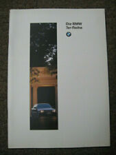 Prospekt / Katalog für BMW 7er Reihe, E 38, 1996