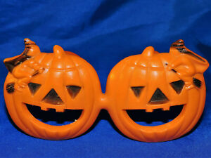 Vintage Halloween Jack O Lantern Witches FUNGLASSES Eye Glasses