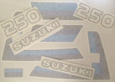 SUZUKI TS250 TS250ER DECAL SET 3