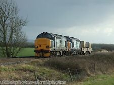 British Rail / DRS 37218 & 37601 (6M67) Rail Photo