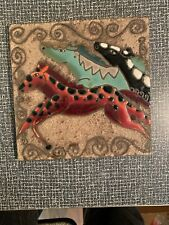 Hand Painted Ceramic Tile Art